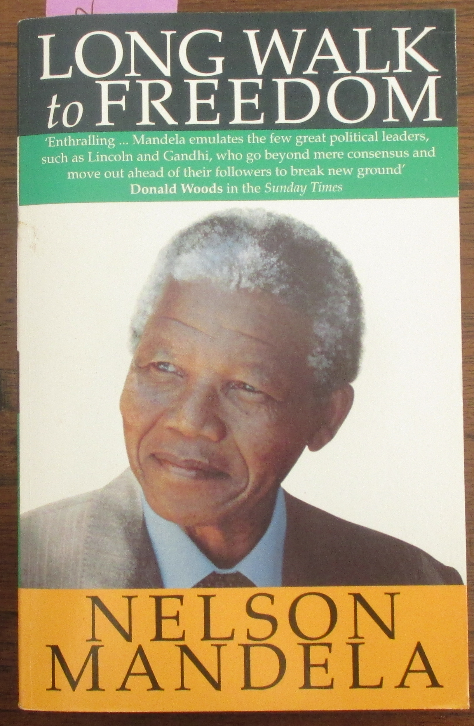 Image for Long Walk to Freedom: The Autobiography of Nelson Mandela