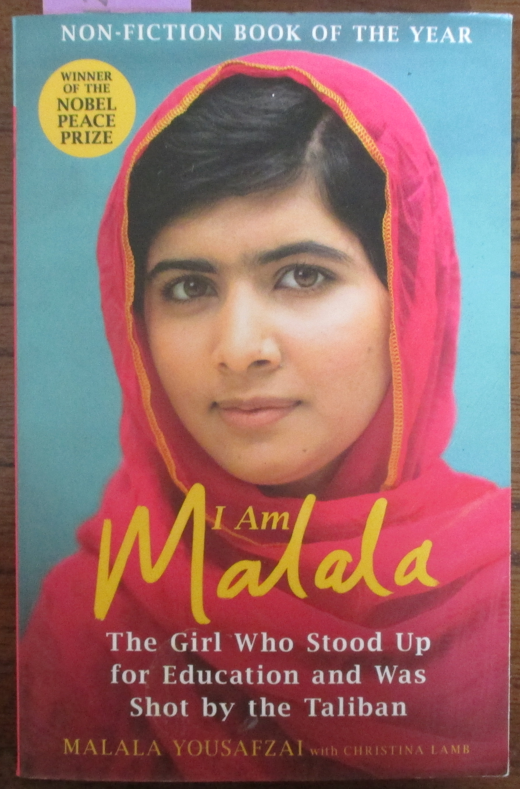 Image for I Am Malala: The Girl Who Stood Up for Education and Was Shot By the Taliban