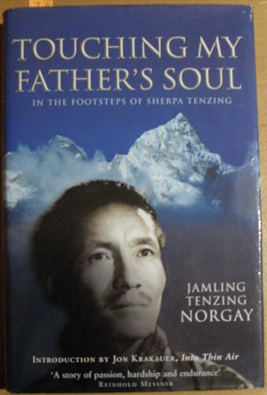 Image for Touching My Father's Soul: In the Footsteps of Sherpa Tenzing