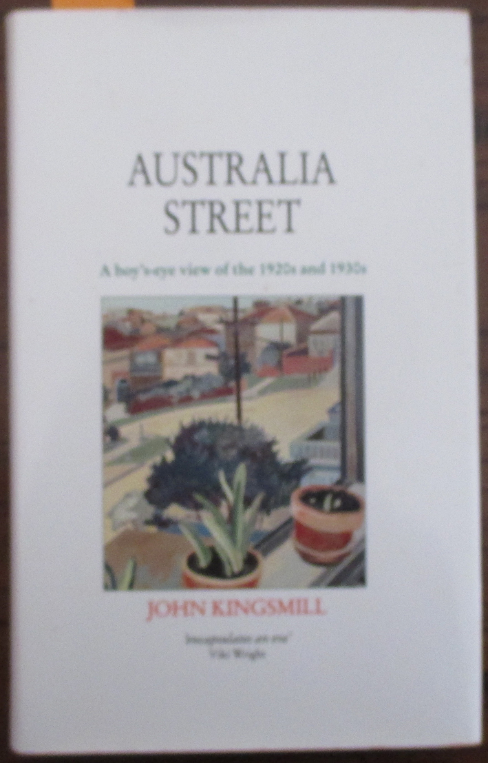 Image for Australia Street: A Boy's-Eye View of the 1920s and 1930s