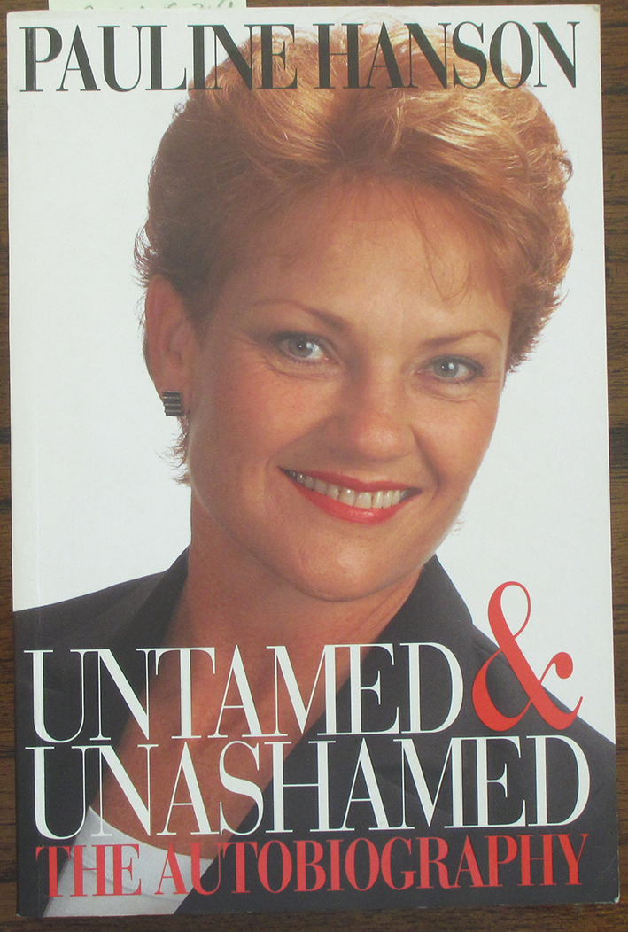 Image for Untamed & Unashamed: The Autobiography