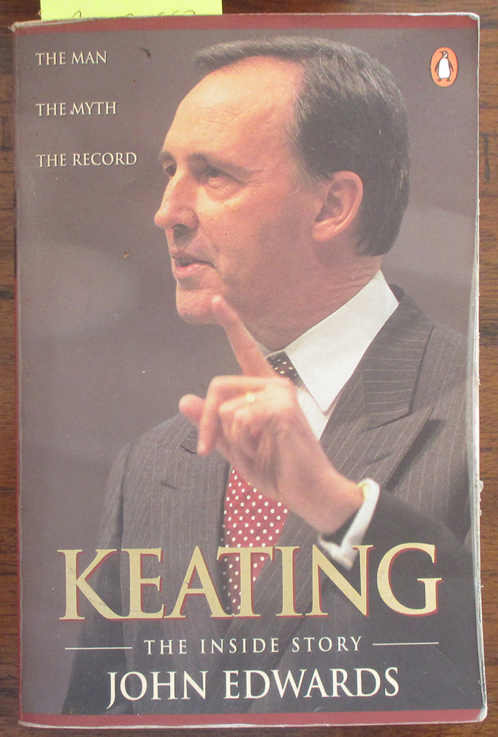 Image for Keating: The Inside Story