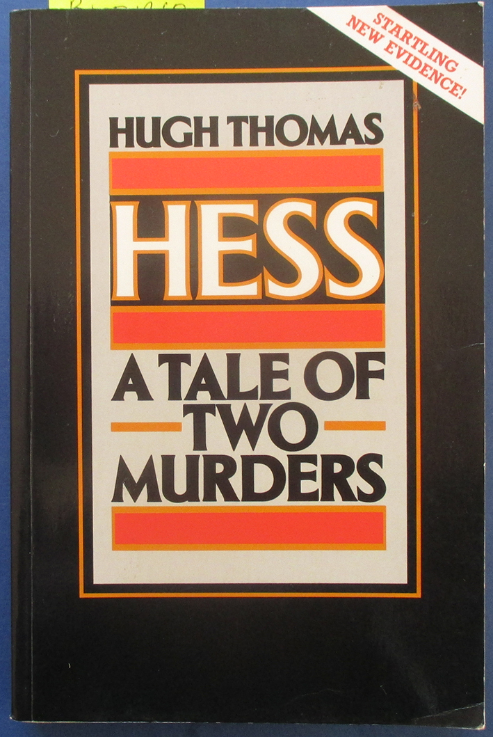 Image for Hess: A Tale of Two Murders