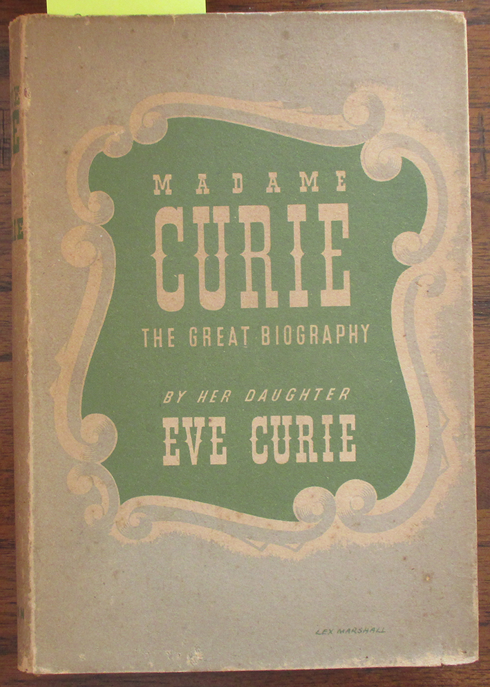 Image for Madame Curie: The Great Biography