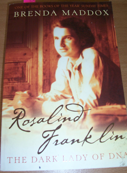 Image for Rosalind Franklin: The Dark Lady of DNA