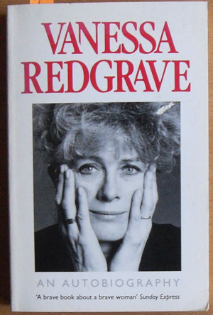 Image for Vanessa Redgrave: An Autobiography
