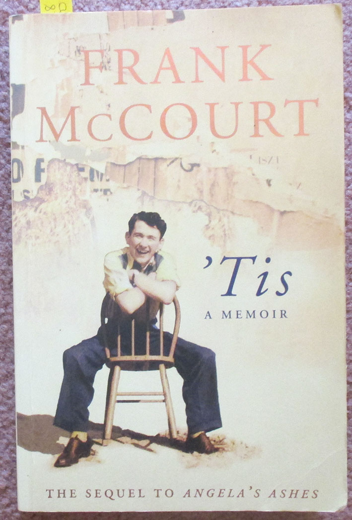 tis a memoir the frank mccourt memoirs english edition