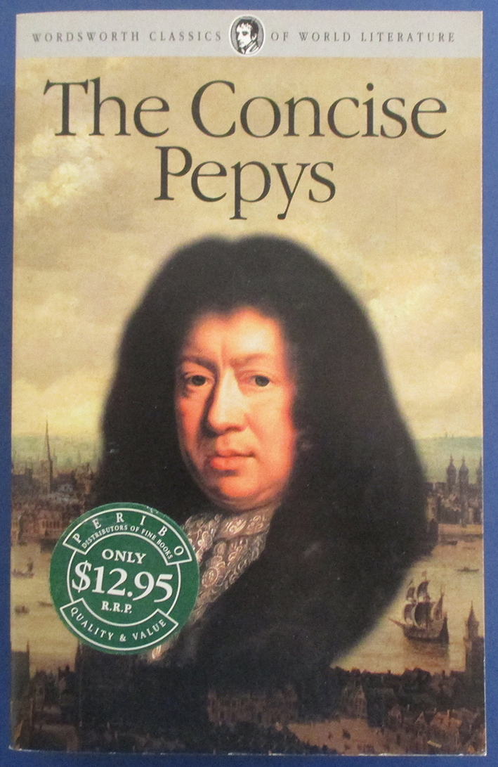 Image for Concise Pepys, The (Wordsworth Classics of World Literature)