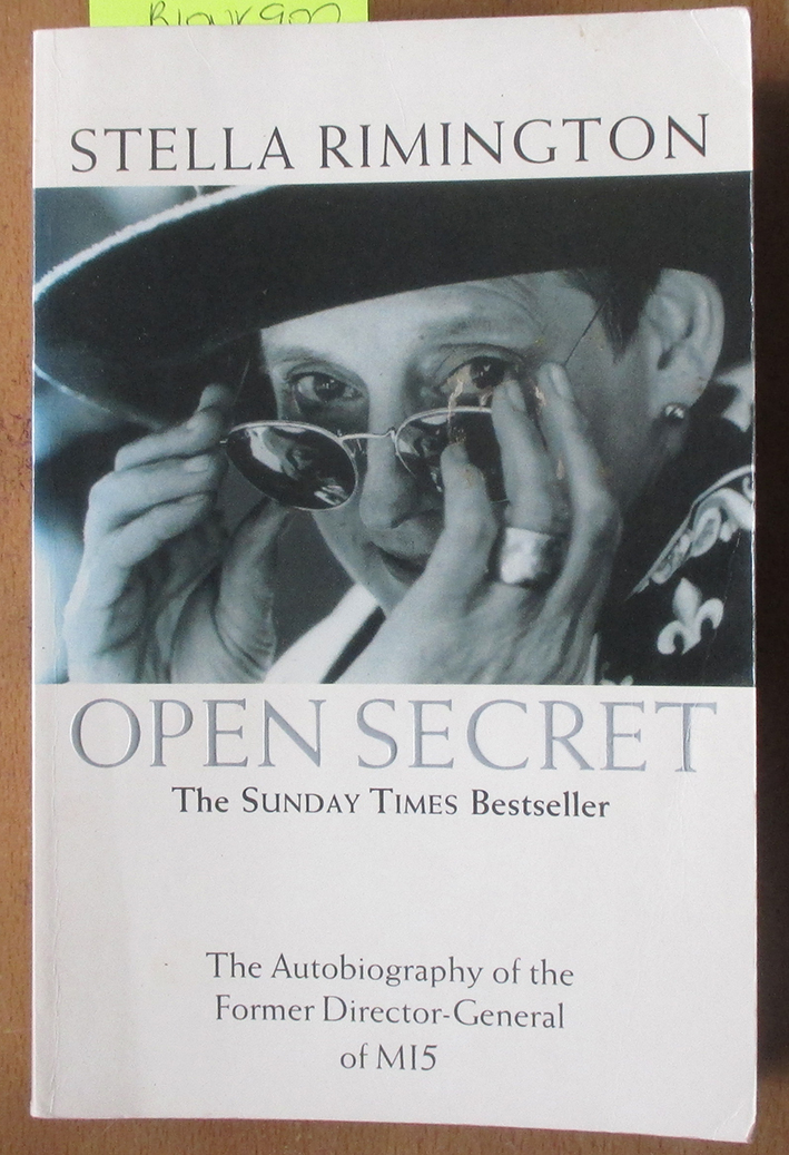 Image for Open Secret: The Autobiography of the Former Director-General of MI5