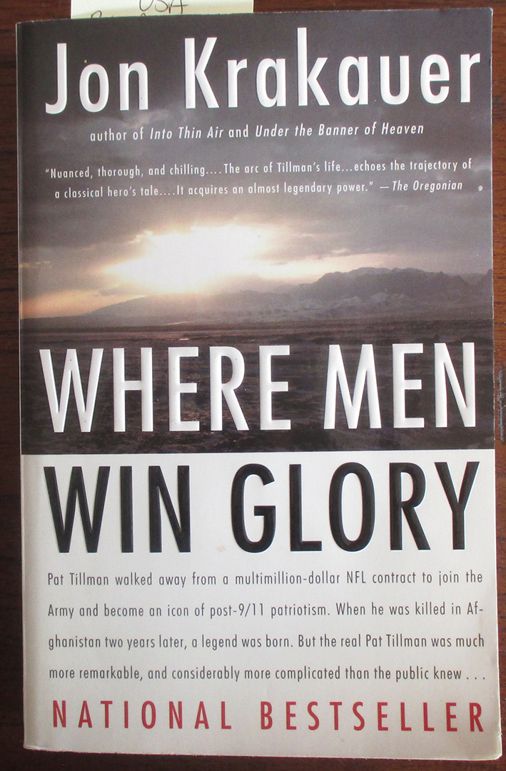 Image for Where Men Win Glory: The Odyssey of Pat Tillman