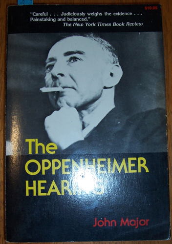 Image for Oppenheimer Hearing, The
