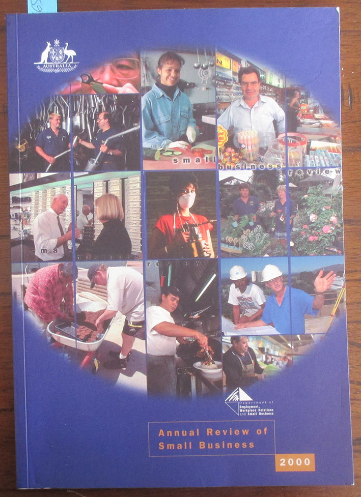 Image for Annual Review of Small Business 2000