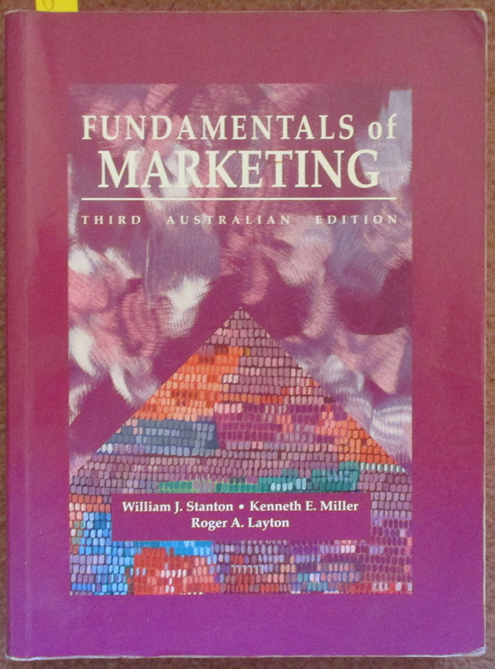 Image for Fundamentals of Marketing