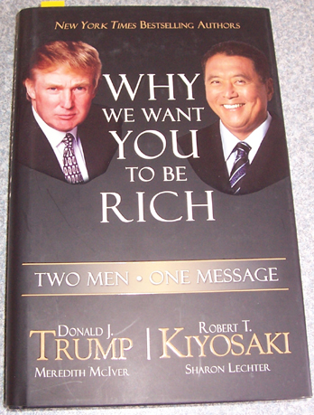 Why We Want You To Be Rich Two Men One Message