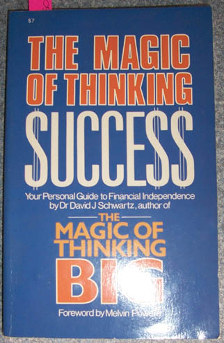 Image for Magic of Thinking Success, The