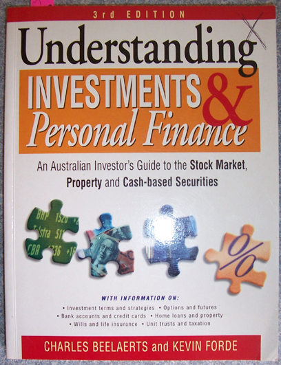 Image for Undserstanding Investments and Personal Finance