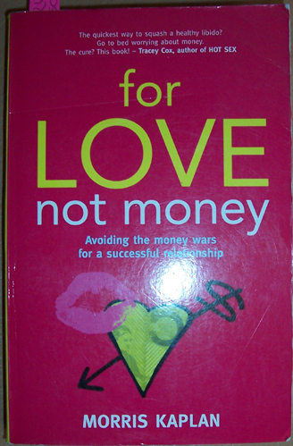 Image for For Love Not Money: Avoiding the Money Wars for a Successful Relationship