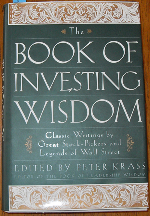 Image for Book of Investing Wisdom, The