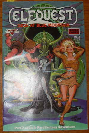 Image for Elfquest: Siege at Blue Mountain (Part 2 of an 8 Part Fantasy Adventure)