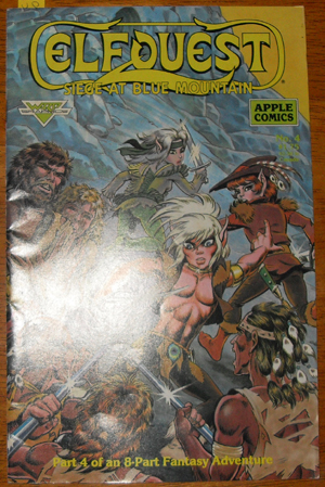 Image for Elfquest: Siege at Blue Mountain (Part 4 of an 8 Part Fantasy Adventure)