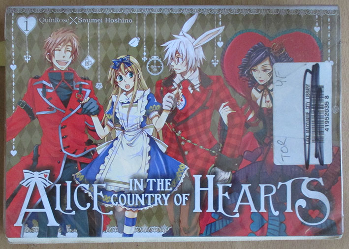Image for Alice in the Country of Hearsts (Volume 1)