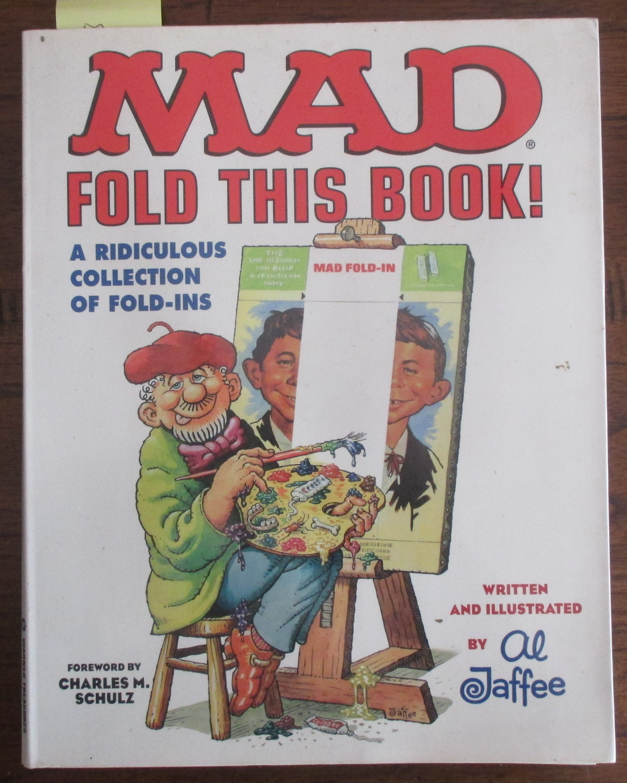 Image for MAD Fold This Book! A Ridiculous Collection of Fold-Ins