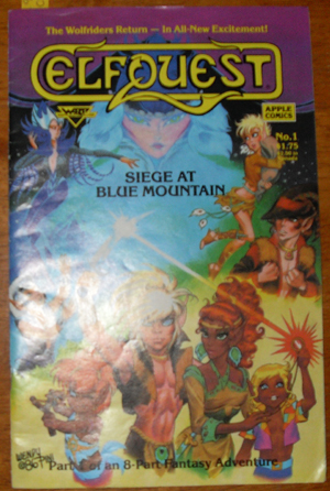 Image for Elfquest: Siege at Blue Mountain (Part 1 of an 8 Part Fantasy Adventure)