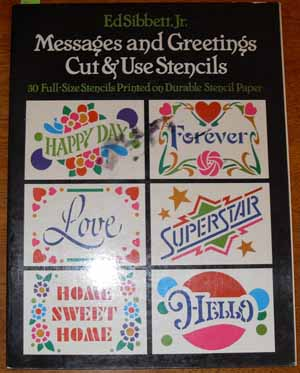 Image for Messages and Greetings Cut & Use Stencils