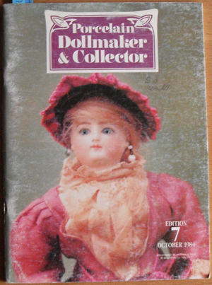 Image for Porcelain Dollmaker & Collector: The Australian Doll Magazine (October 1984, Edition 7)