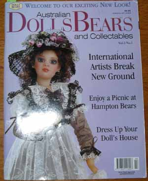 Image for Australian Dolls, Bears and Collectables Vol 4 No 4
