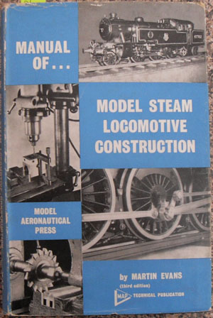 Image for Manual of Model Steam Locomotive Construction