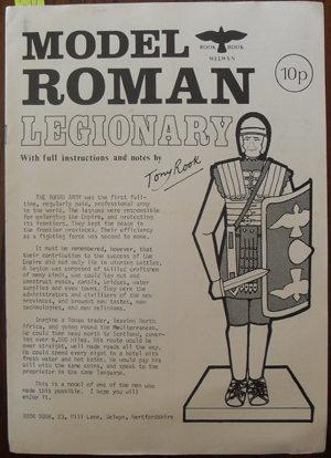 Image for Model Roman Legionary