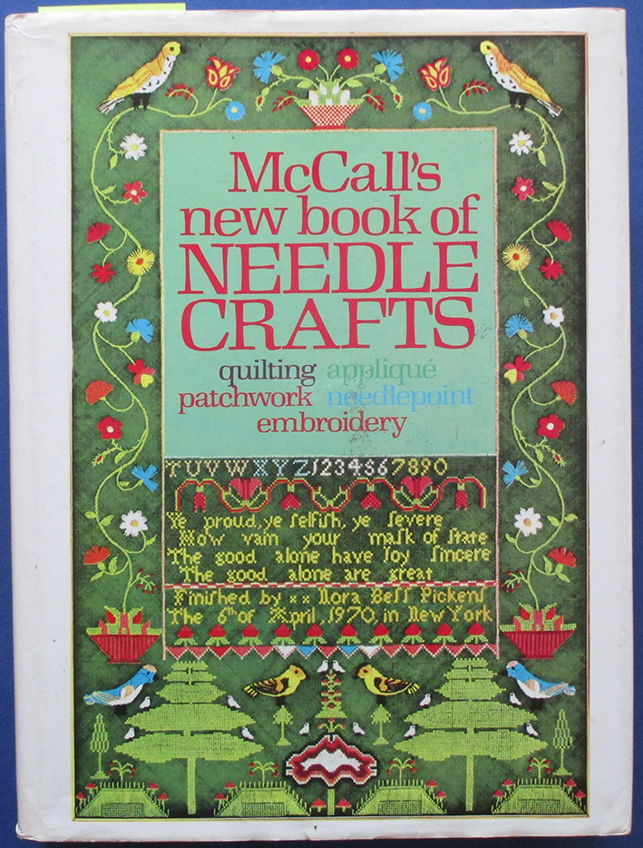 Image for McCall's New Book of Needle Crafts: Quilting, Applique, Patchwork, Needlepoint, Embroidery