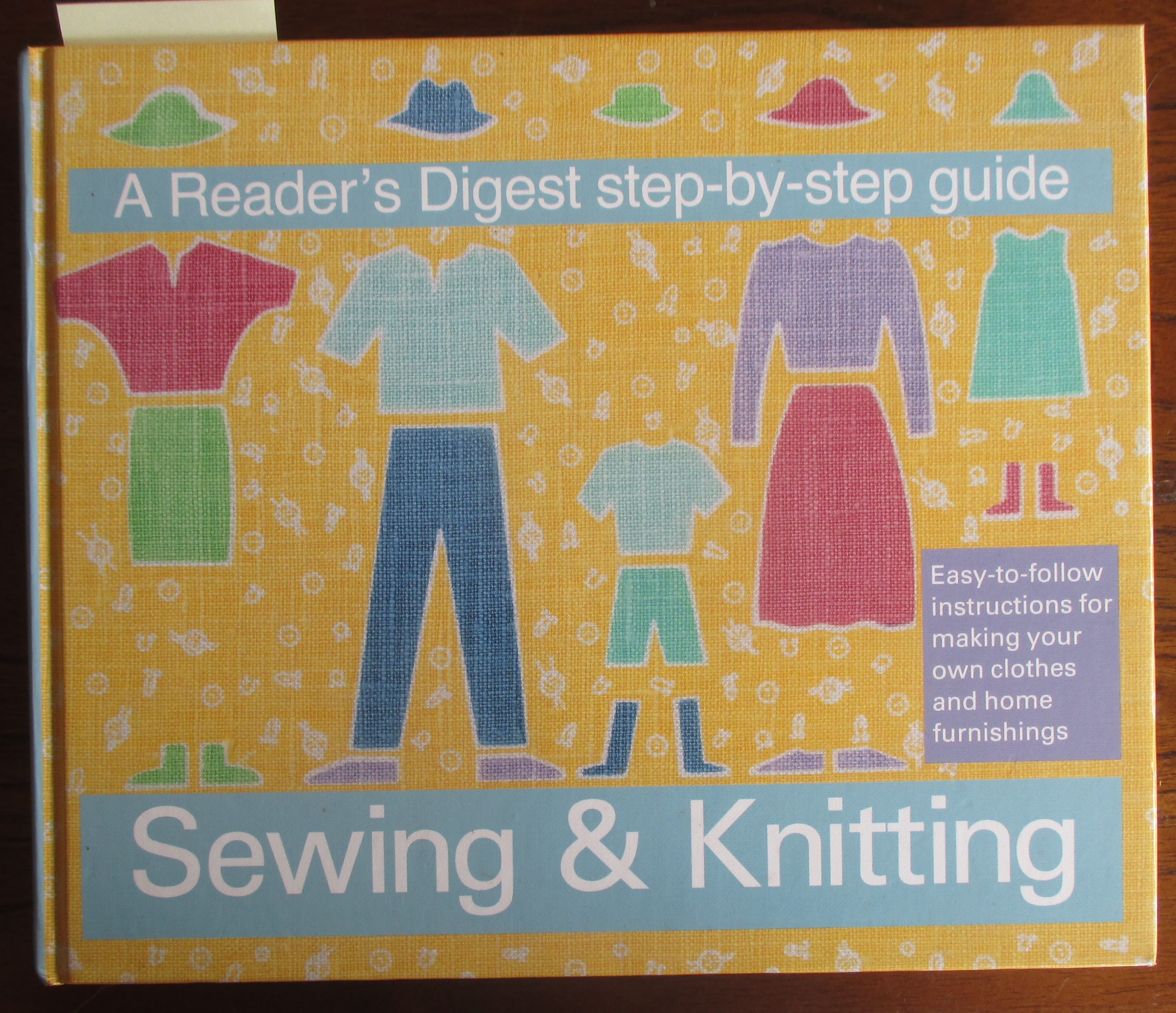 Image for Sewing & Knitting: A Reader's Digest Step-By-Step Guide