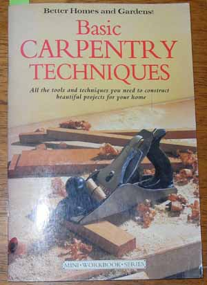 Image for Basic Carpentry Techniques