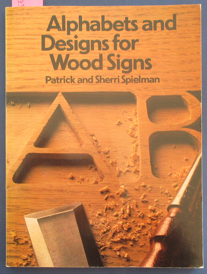 Image for Alphabets and Designs for Wood Signs (Home Craftsman Series)