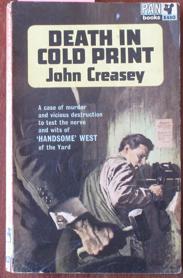 Image for Death in Cold Print