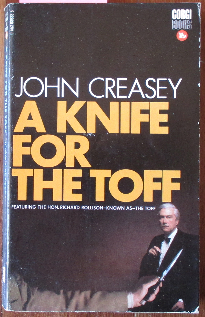Image for Knife for the Toff, A