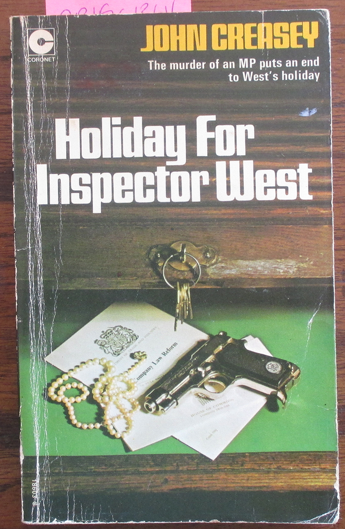 Image for Holiday for Inspector West