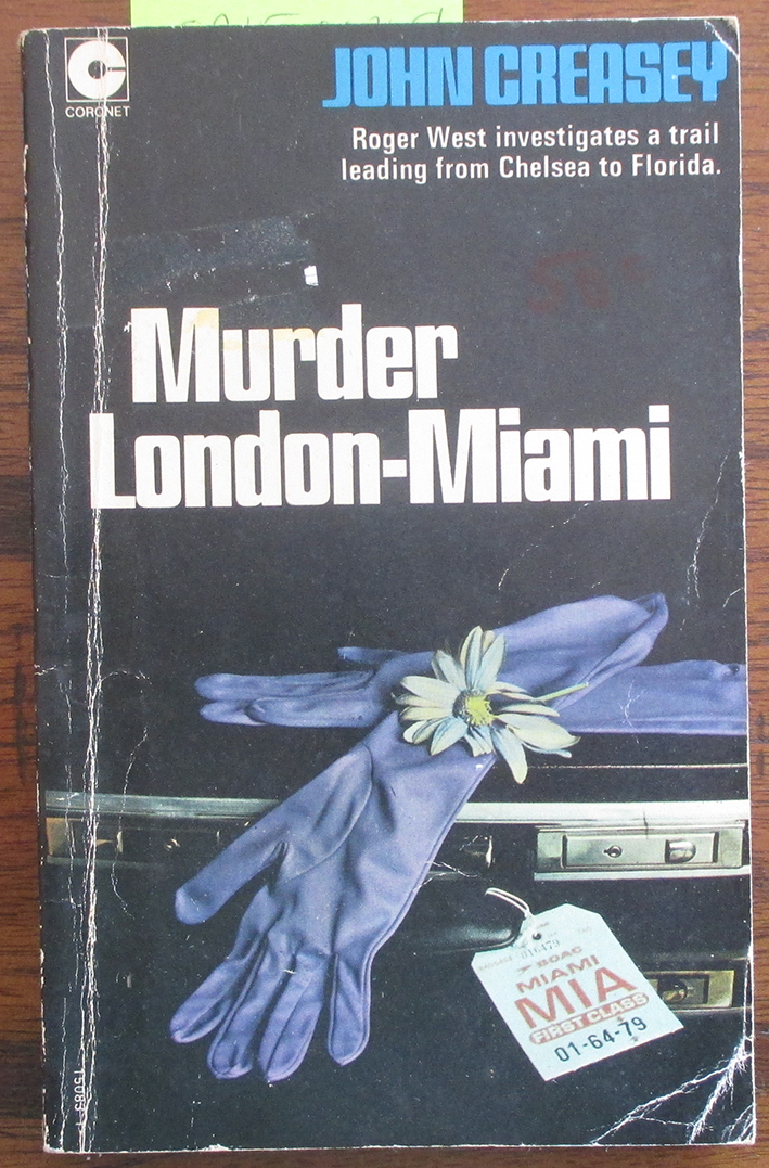 Image for Murder London-Miami