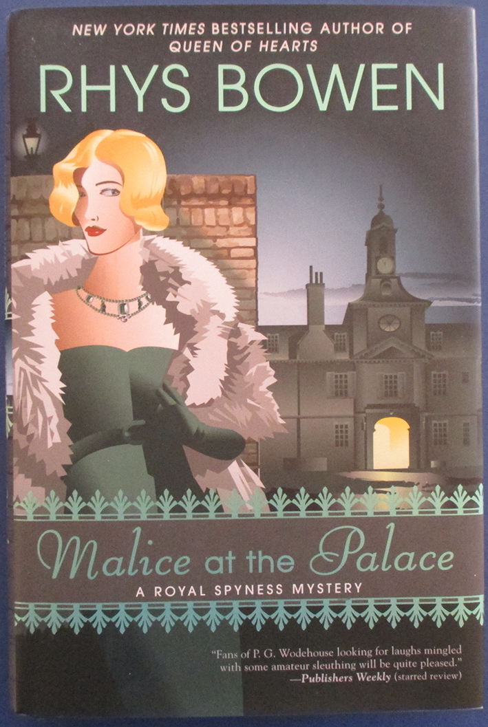 Image for Malice at the Palace: A Royal Spyness Mystery