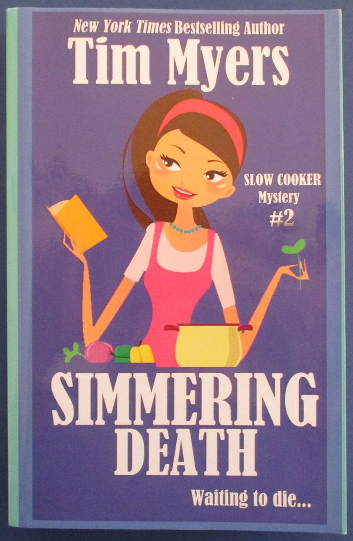 Image for Simmering Death: Slow Cooker Mystery #2
