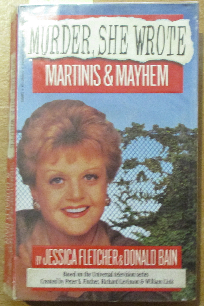 Image for Murder, She Wrote: Martinis and Mayhem
