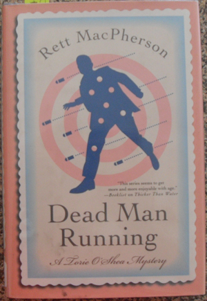 Image for Dead Man Running: A Torie O'Shea Mystery