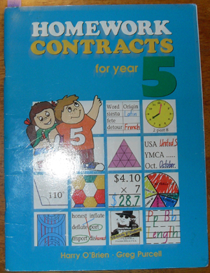 Image for Homework Contracts for Year 5