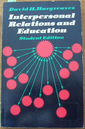 Image for Interpersonal Relations and Education: Student Edition