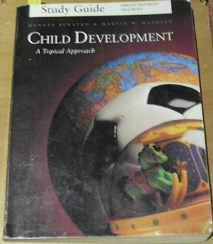 Image for Child Development: A Topical Approach (Study Guide)