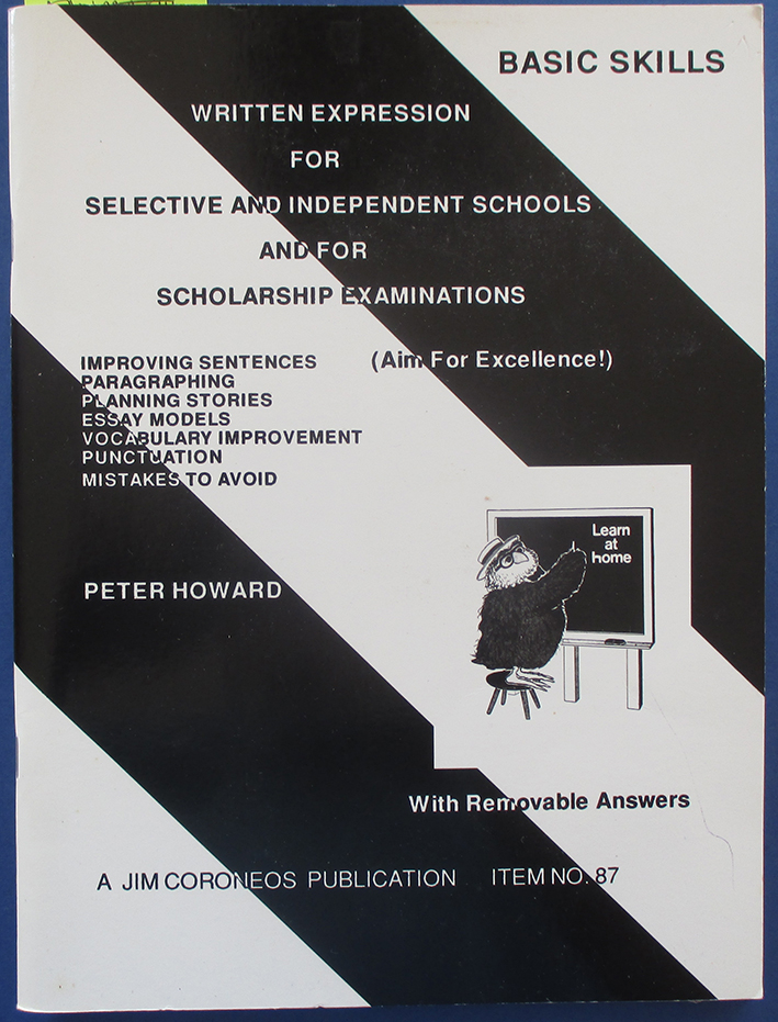 Image for Written Expression for Selective and Independent Schools and for Scholarship Examinations
