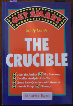 Image for Get Smart: The Crucible (Study Guide)