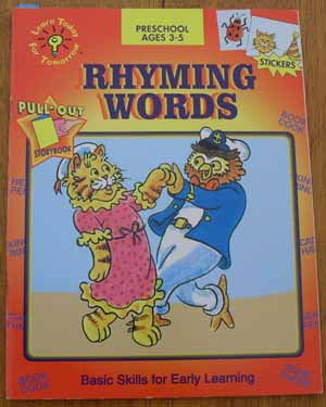 Image for Rhyming Words: Basic Skills for Early Learning